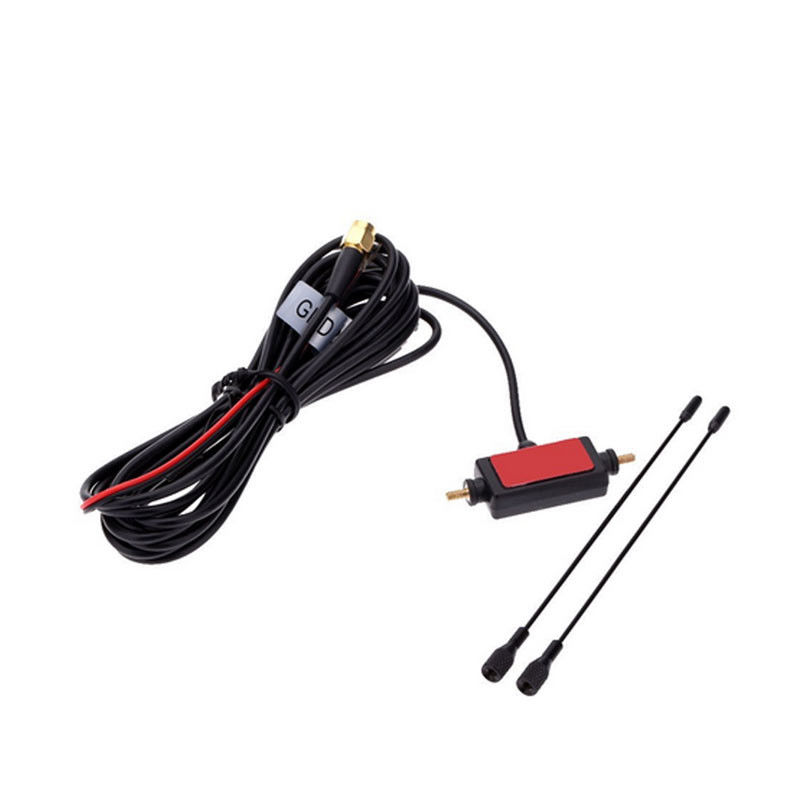 Indoor Amplified Digital Television Antennas Black Active ATSC  DVB-T